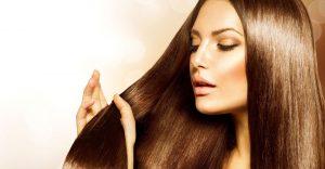 Frau mit langen Haaren © Friseur Lutz
